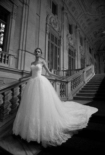 Vestito sposa da principessa