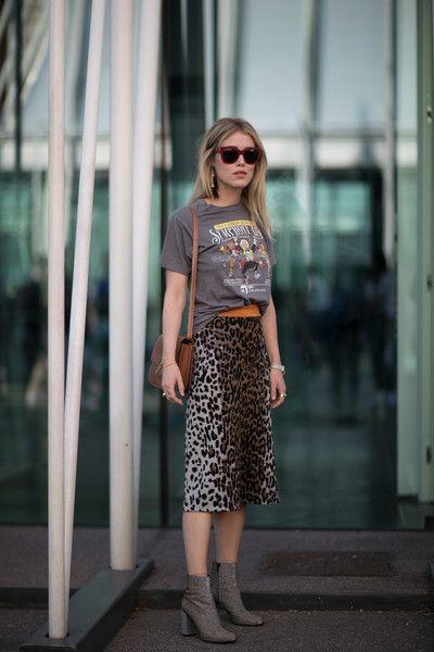 Attendees at Milan Fashion Week Spring 2017 - Street Fashion