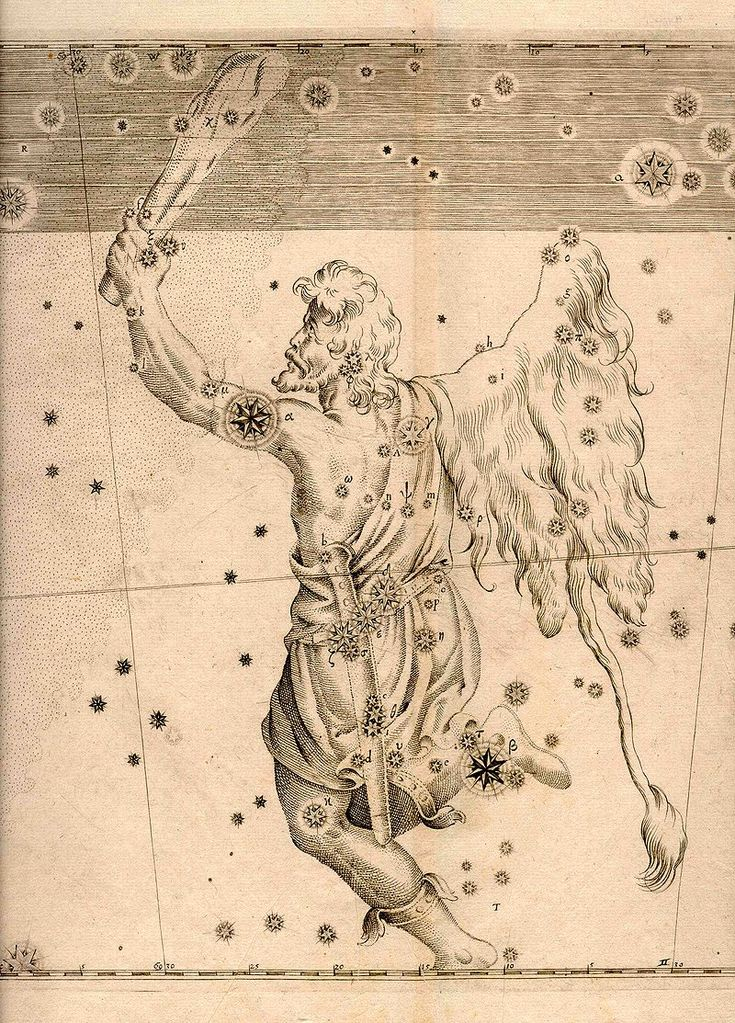 Uranometria orion - Orion (mythology) - Wikipedia, the free encyclopedia
