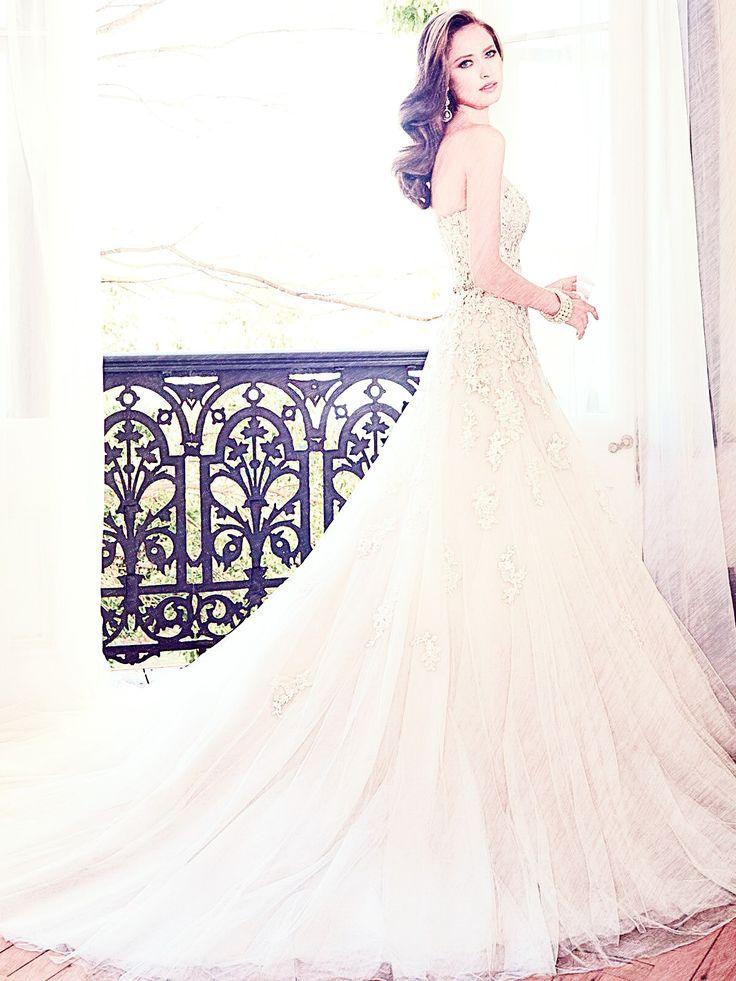 Woman in a Wedding Dress.