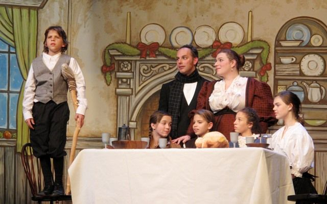 backdrops scrooge | ... Make the Show in Methacton Community Theater's SCROOGE! THE MUSICAL