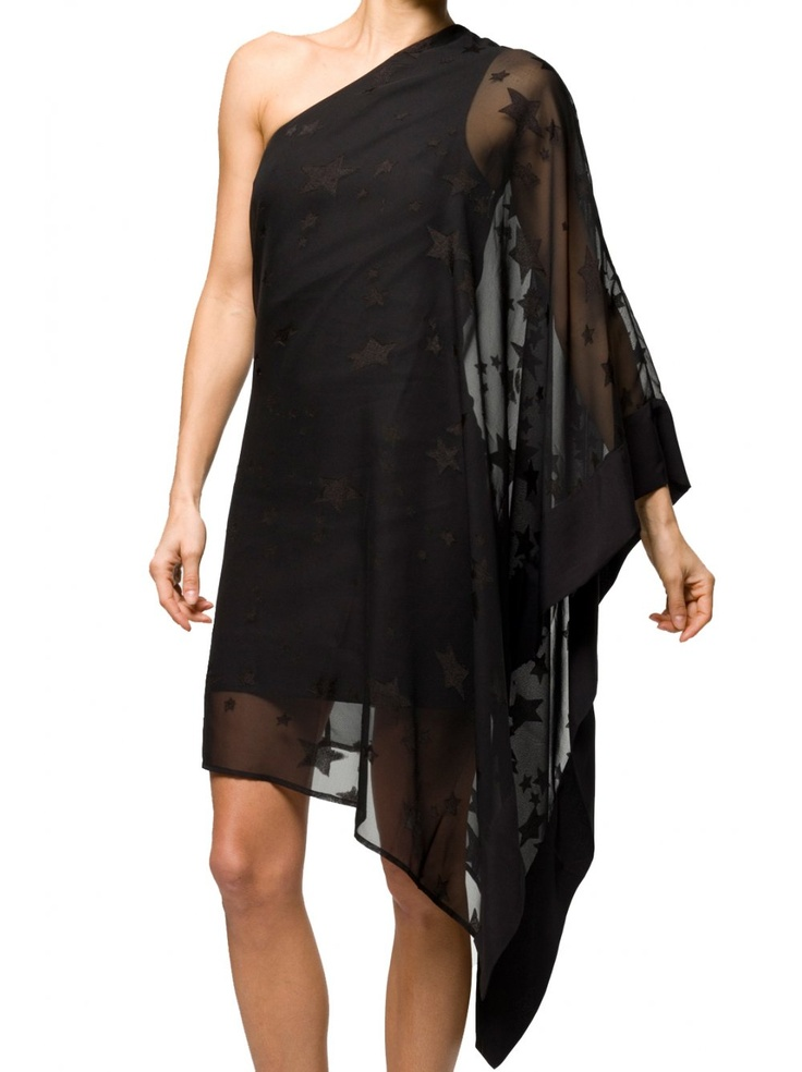 Religion Clothing Dress Dusky in Jet Black