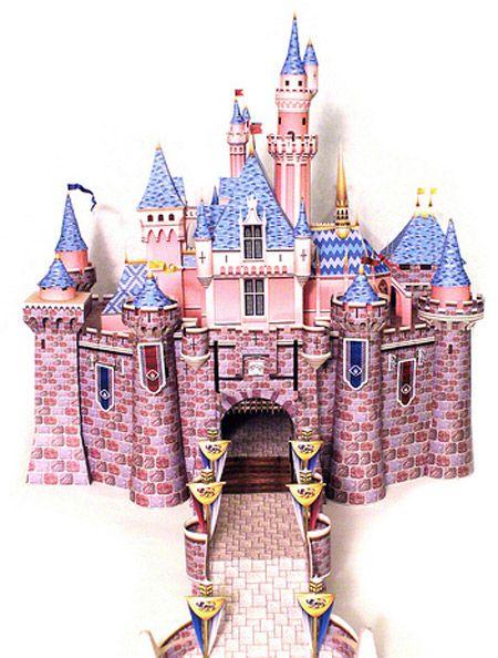 duplo sleeping beauty castle instructions