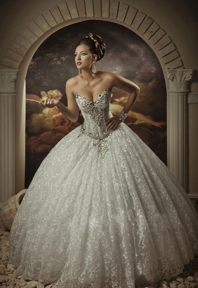 2becce8950 Beaded Corset Basque Wedding Dress