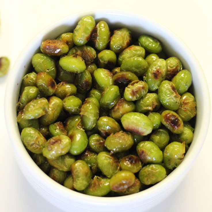 This recipe for roasted edamame is quick, easy, and so delicious. These little bits of goodness are addictive! Whip up a batch and enjoy!