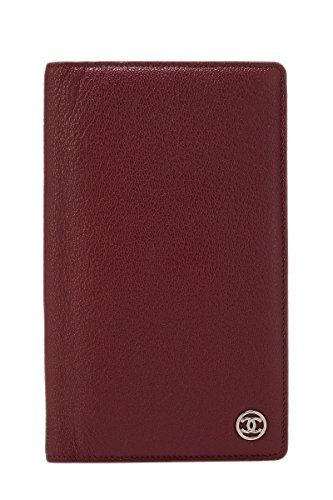 3daf5c06cf73 SALE PRICE - $750 - CHANEL Burgundy Caviar Continental Wallet (Pre-Owned)