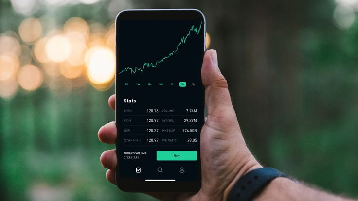 I've been trading with the Robinhood app for about two