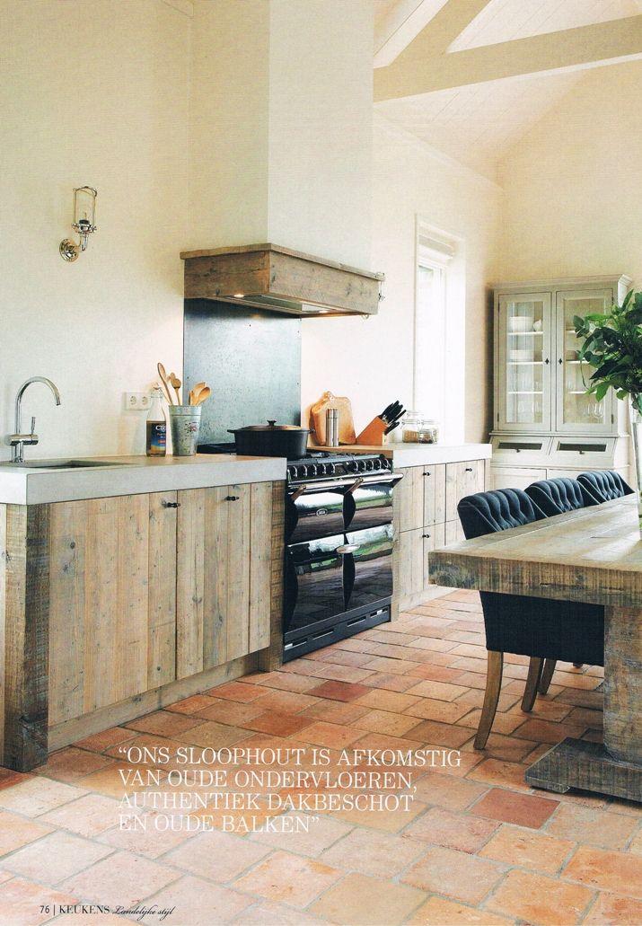 Sloophouten keuken landelijke stijl Restyle XL