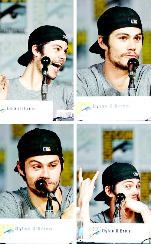 Dylan O'Brien...does he have any idea how sexy he is?!