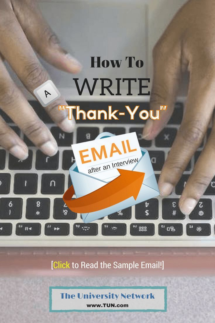 Best 25 interview thank you email ideas on pinterest interview how to write a thank you email after an interview for a job you really like millennial career advice aljukfo Images