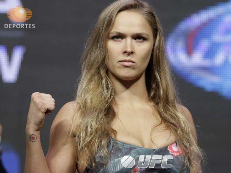 Ronda Rousey, campeona de UFC posa para Sports Illustrated | super-clic | TelevisaDeportes.com