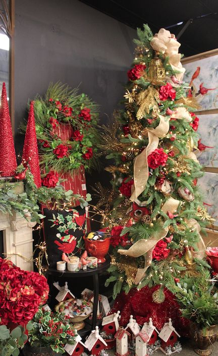 Cardinal Themed Christmas Tree Ornaments And Decor. The Christmas Shop At River  Hill Garden Center