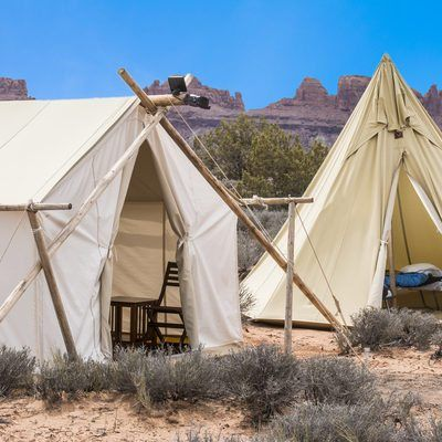 Need lodging near Zion? Forget hotels. Give glamping a try. Our luxury accommodations in the outdoors perfectly complement your visit to Zion National Park.