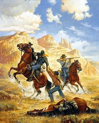 an analysis of buffalo soldiers in the west Red river war of 1874-1875  analysis also suggests that fewer indians participated and were  train and buffalo wallow a top west point graduate,.