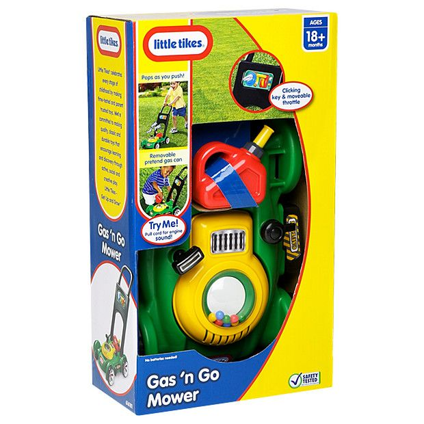 Little Tikes Gas 'N' Go Mower - FOR MAX