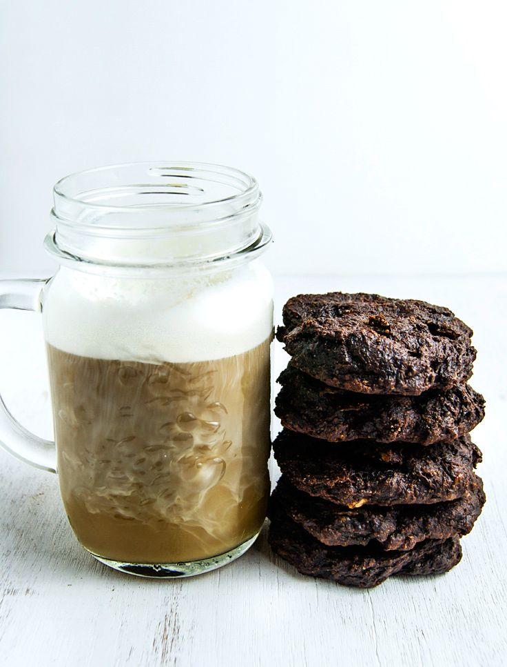 Healthy breakfast chocolate cookies