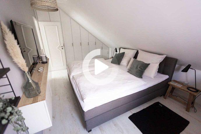 Schlafzimmer Dachschräge Farblich Gestalten
