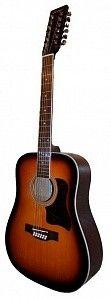 """Акустическая 12-струнная фолк-гитара 41"""", Caraya F64012-BS - 1194-------- 6700 рэ"""