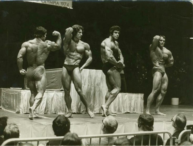 The 'golden age' of bodybuilding. (1974)