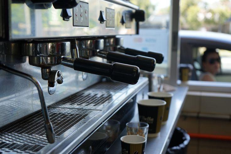 Get a quick fix at the Di Bella Coffee Drive-thru