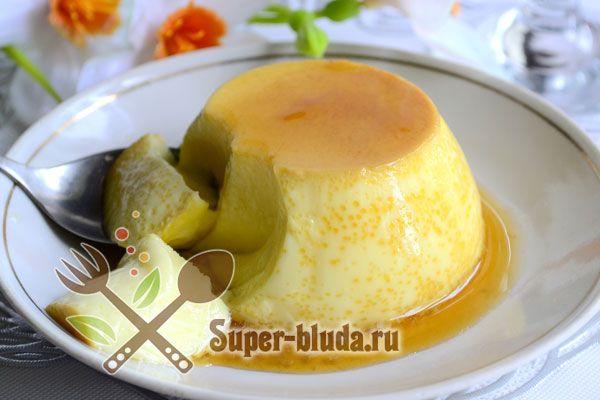 десерт крем карамель