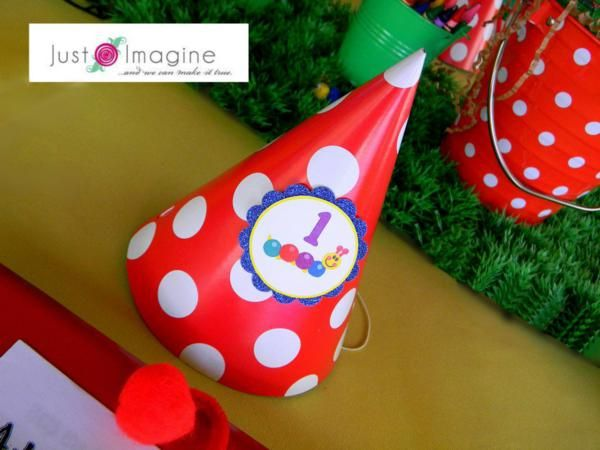 Caterpillar Baby Einstein Themed 1st Birthday Party - Kara's Party Ideas - The Place for All Things Party