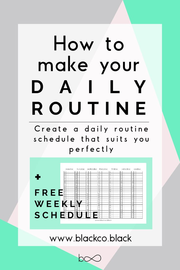 The 25+ best Daily routine schedule ideas on Pinterest | Daily ...