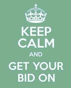 Keep Calm And Bid On At #ProAuction -#Hospitality, #Catering & #HotelContents #Auctions www.proauction.ltd.uk
