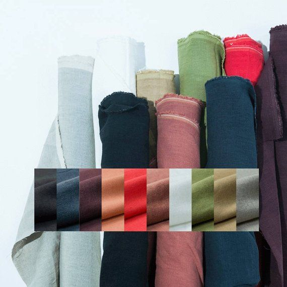 10 Colors Pure Linen Japan Natural 100 Pure Linen Fabric Solid Color Sewing For Clothing Home D Pure Products Fabric Linen Fabric