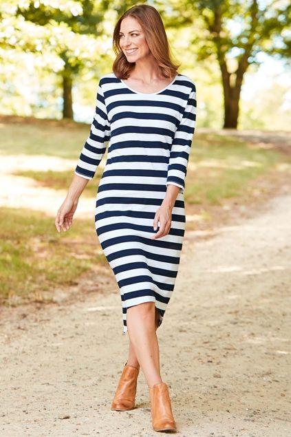 bird keepers The High Low Midi Dress - Womens Knee Length Dresses - Birdsnest Online