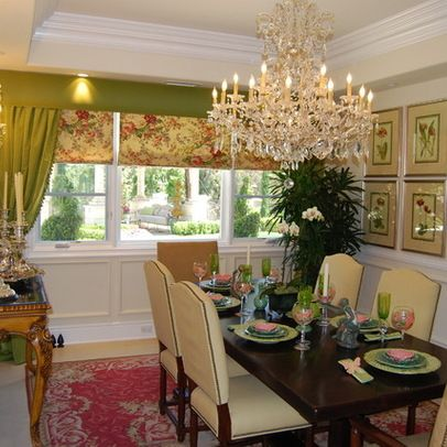 1000 images about Pink Red and Green Dining room on Pinterest