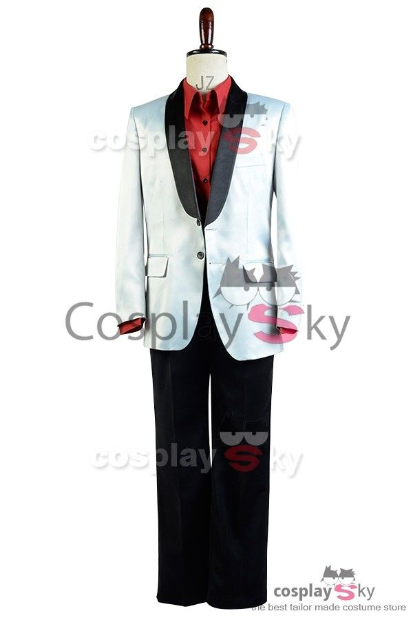 Suicide Squad Jared Leto Batman Joker Suit Cosplay Costume  |  CosplaySky.com