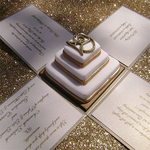 Ref Cake Boss gold with Chocolate foundant ( we can do any colour) www.weddingcards.co.za