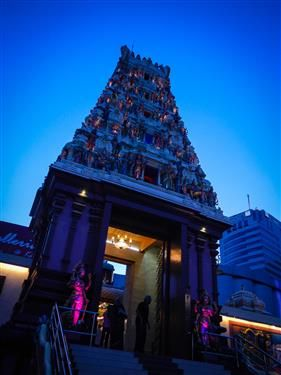 Indian Temple in Johor Baharu  http://www.inspirawtion.com/johor-baharu.html