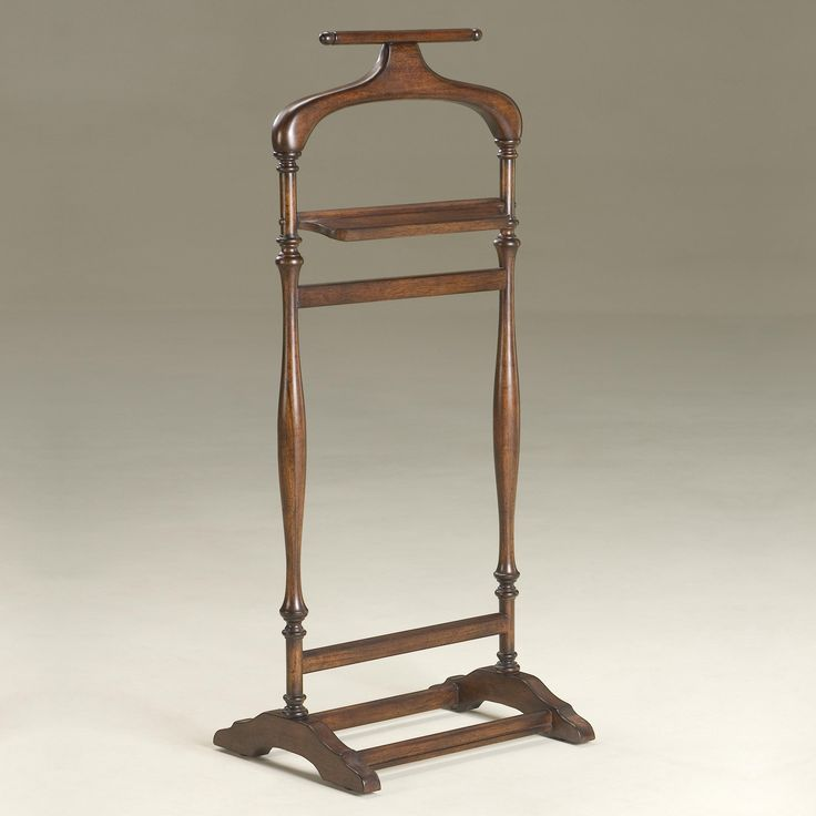 Butler Plantation Cherry Valet Stand | www.hayneedle.com