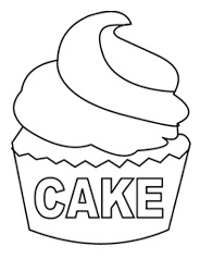 ice cream cake coloring pages - 41 best nutrition coloring pages images on pinterest