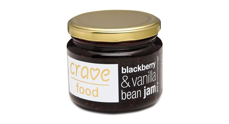 Crave Food Blackberry and Vanilla Bean Jam