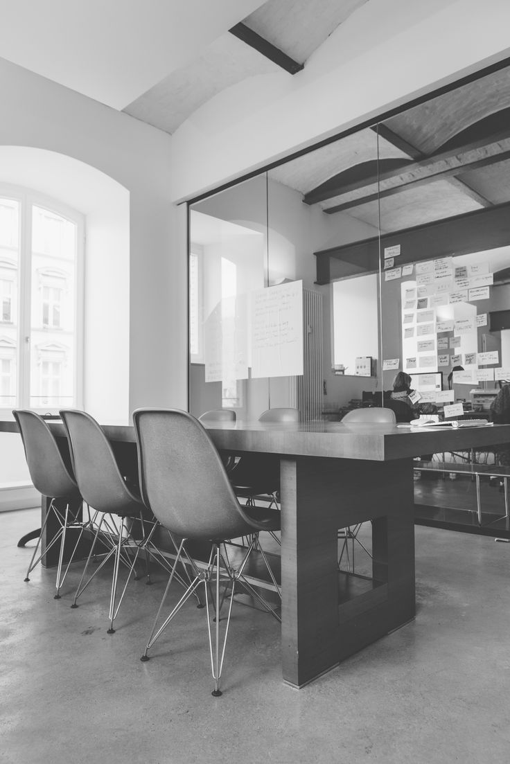 Office in old brewery, Berlin   Meeting space   Photo by Jasmin Marla Dichant