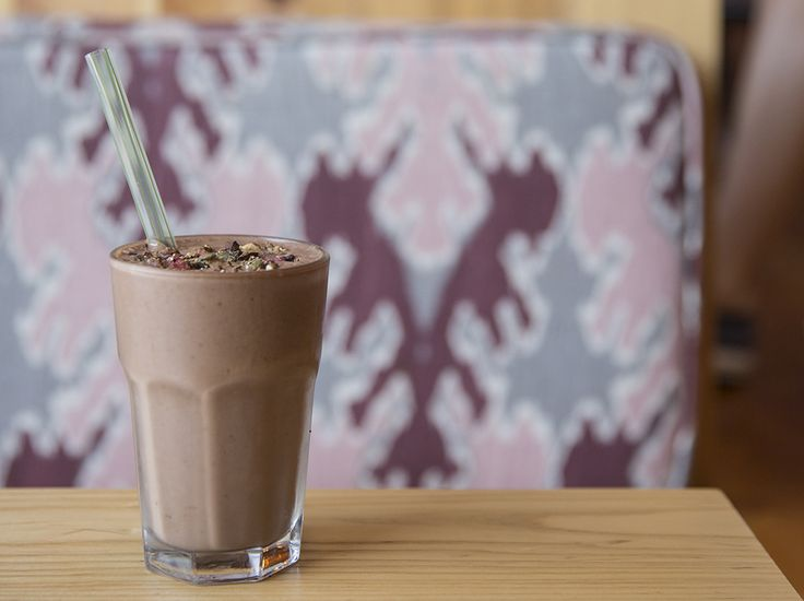 This smoothie simply rocks. Nut milk, cacao, banana, dates and our trail clusters make for a real good-times smoothie. Trail clusters are full of flavour and d