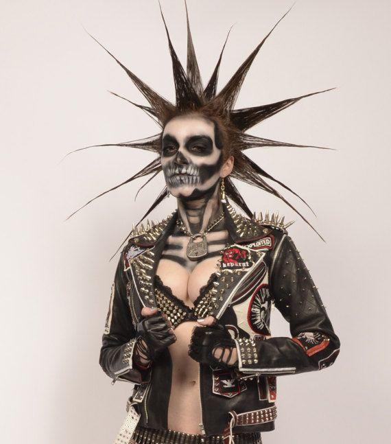RWB Jacket / metal head punker inspiration / Mad Max