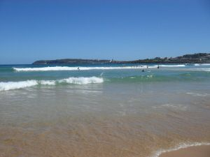 North Curl Curl Beach on the northern beaches in Sydney, Australia