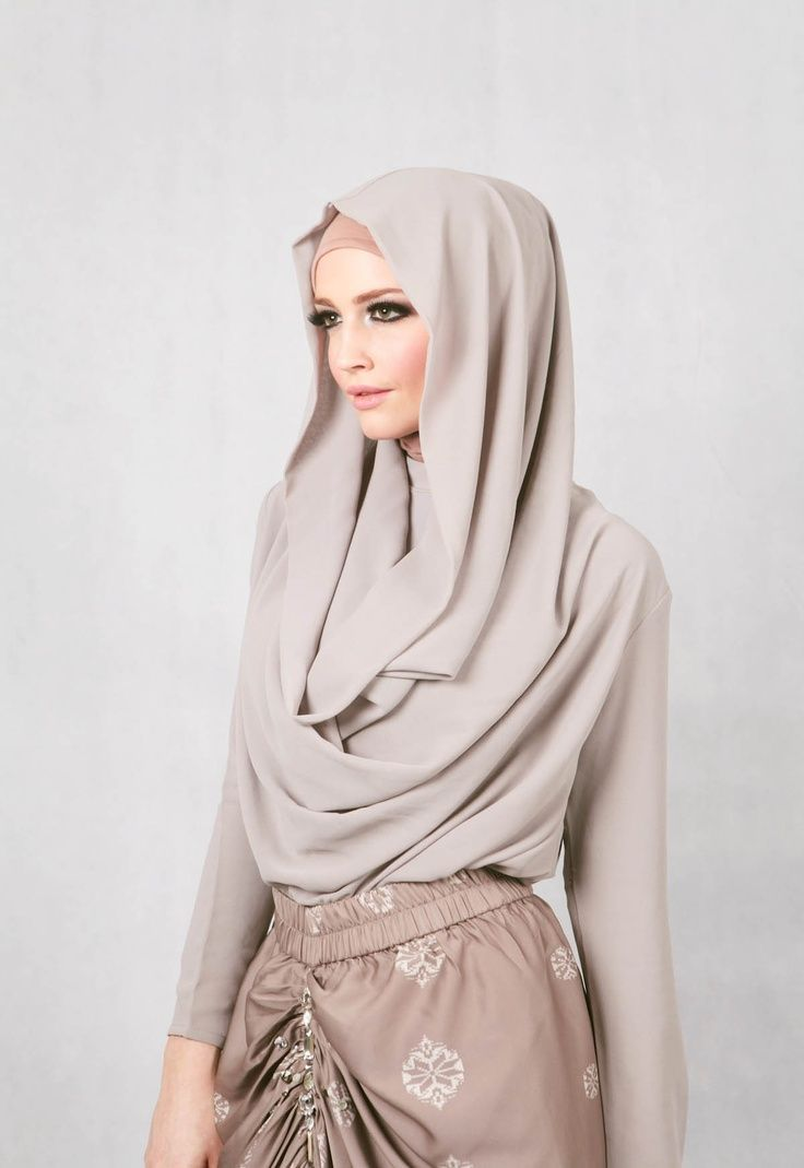 1 Beautiful chest coverage hijab ideas (5)