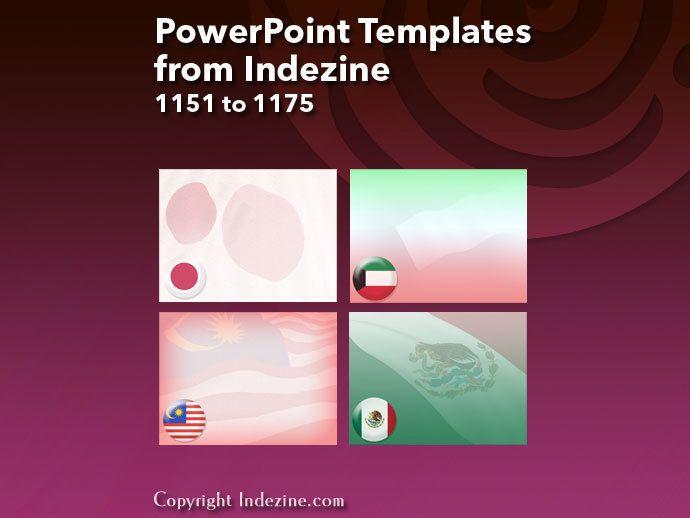 South Africa Flag 01 - PowerPoint Templates   Indezine   Pinterest ...