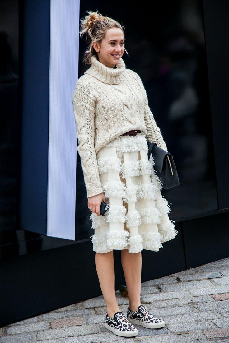 London Fashion Week AW14 Street Style Day 4