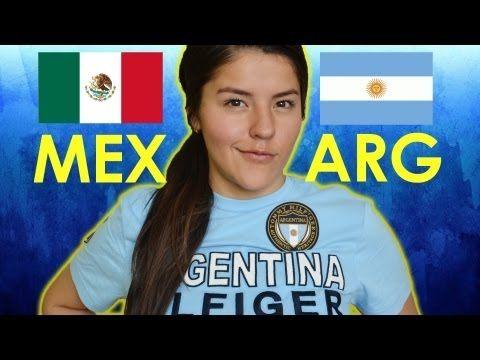 Reto: Mexico vs Argentina acentos   Reto polinesio de acentos contra 2 argentinos. - YouTube