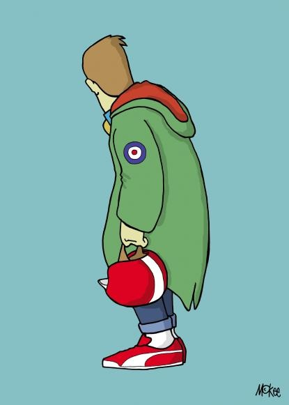 Mods, Away from the numbers - Pete Mckee Official artists site