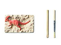 Mały archeolog, czyli odkop swojego dinozaura. 10 zł.