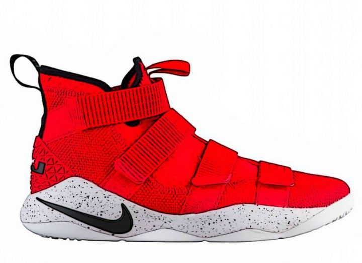 huge discount c481f 012e0 lebron soldier 11 | ZAPATO.GAME. in 2019 | Sneakers nike ...