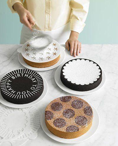 8460a11e6eb71928ff4332731a43a2c4 - Stencil para decoração de bolos...