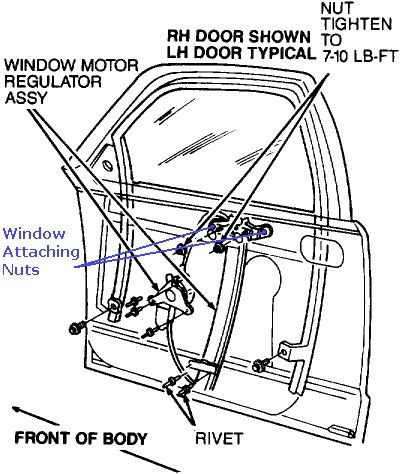 How to Fix a Car Window That Falls Down Into the Door